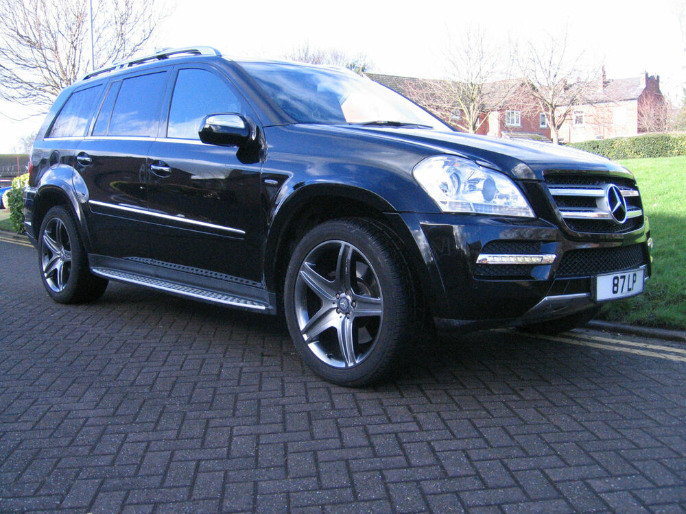 mercedes gl 350 3 0cdi blue efficiency auto sport black. Black Bedroom Furniture Sets. Home Design Ideas