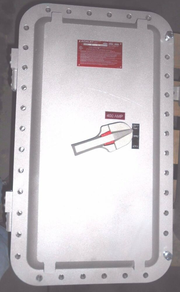 Explosion Proof Fuse Box : New xce n adalet explosion proof pole amp no