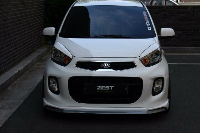 Zest Front Lip For Kia Picanto The New Morning 2015 Ebay