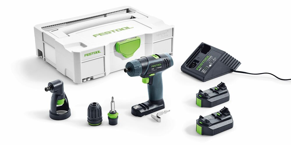festool akku bohrschrauber txs li 2 6 set akkuschrauber im systainer nr 564510 ebay. Black Bedroom Furniture Sets. Home Design Ideas