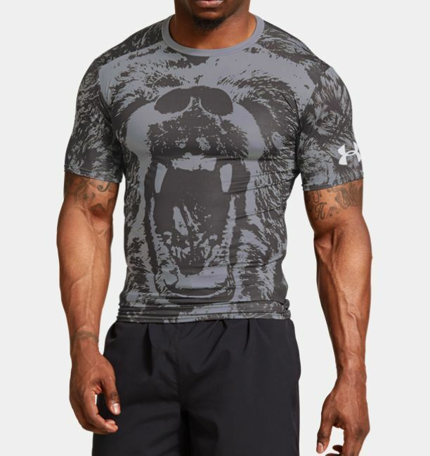 Under armour 1253881 alter ego beast heat gear for Beast mode shirt under armour