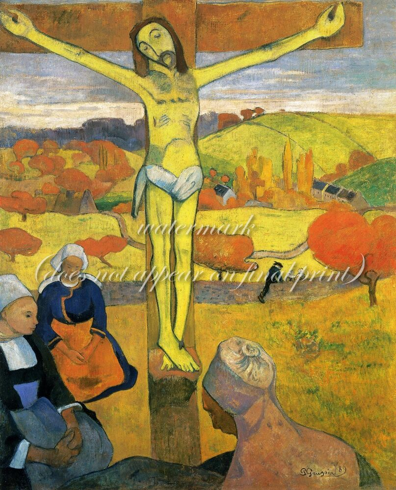 ... Gauguin Painting Poster or Canvas Print