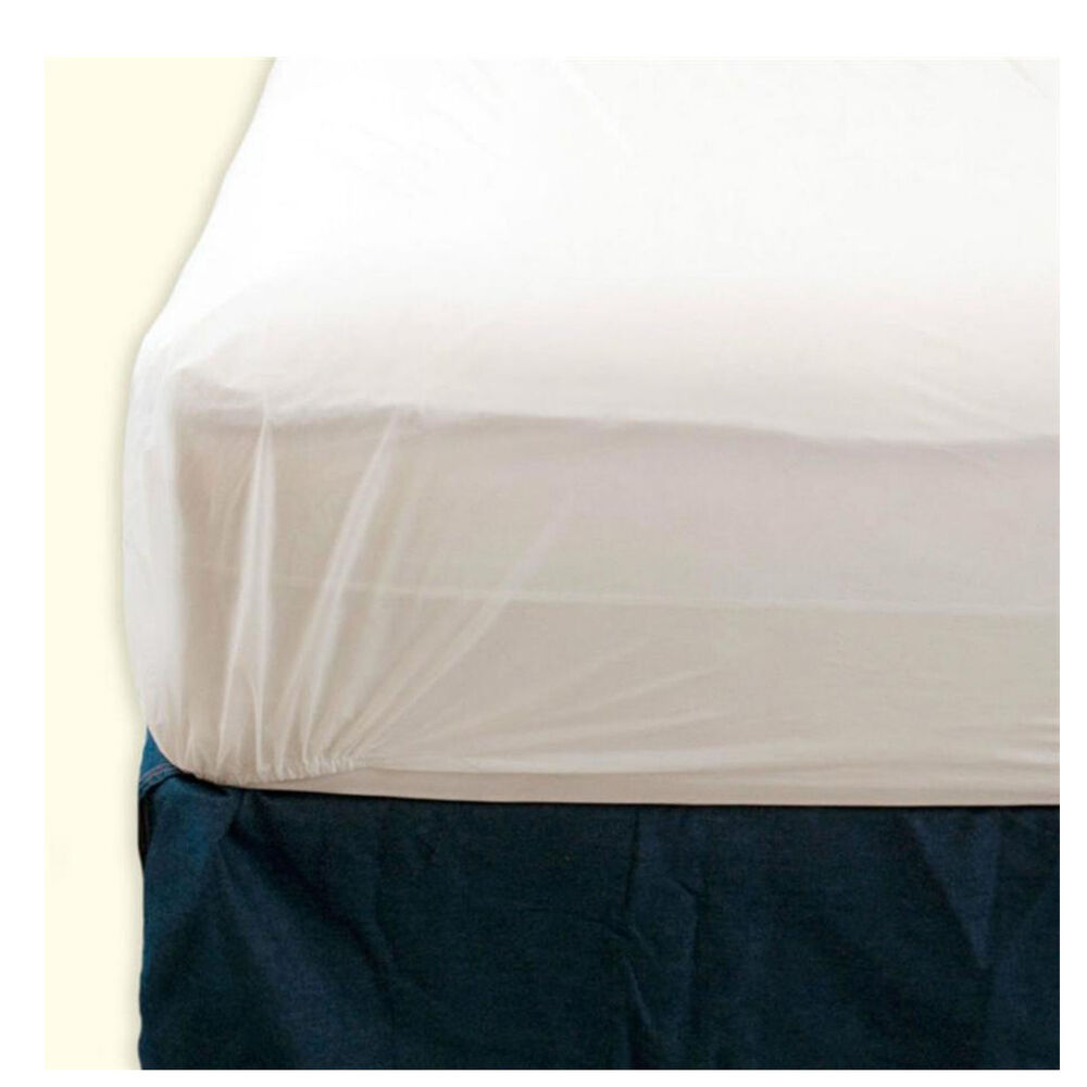 NEW SINGLE DOUBLE KING FITTED VINYL MATRESS WATERPROOF