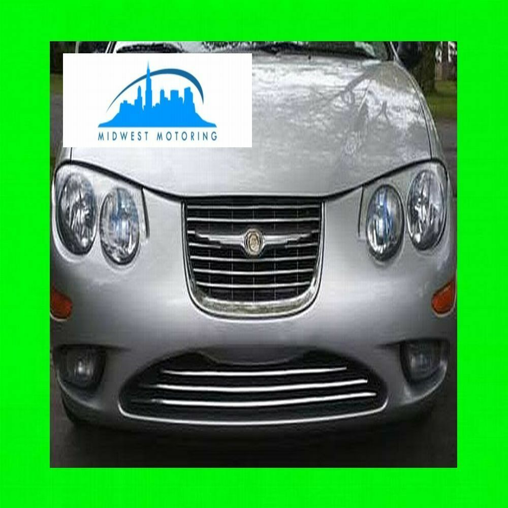 1999-2004 CHRYSLER 300M CHROME TRIM FOR LOWER GRILL GRILLE