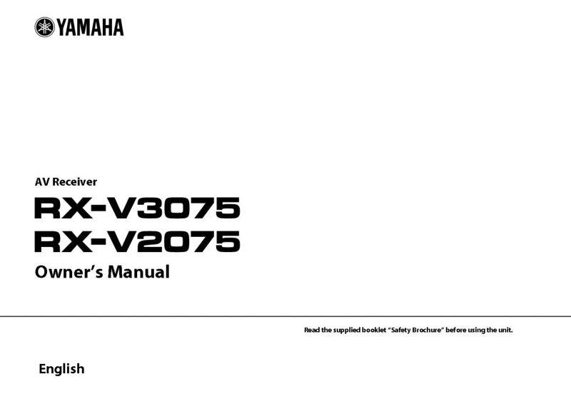 yamaha receiver rx v465 manual ggetcn