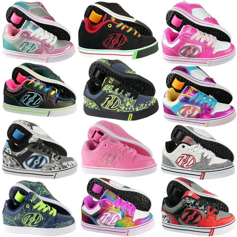 heelys motion plus rollschuhe skates heelies kinder schuhe mit rollen ebay. Black Bedroom Furniture Sets. Home Design Ideas