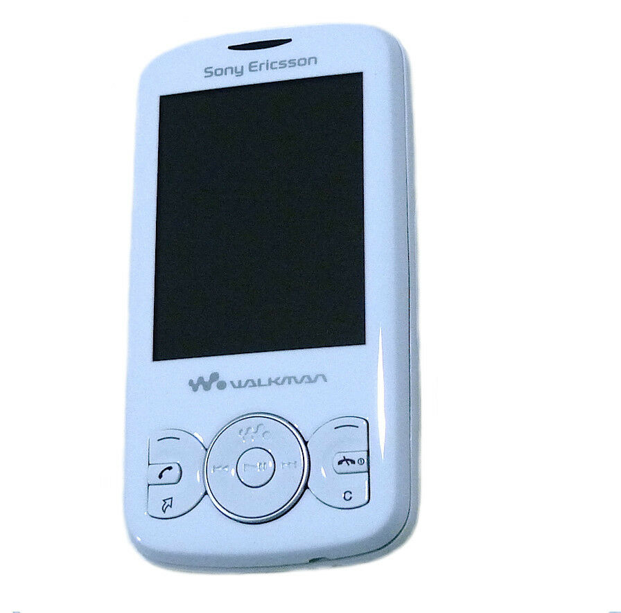 sony ericsson spiro w100i slider walkman white vodafone mobile phone ebay. Black Bedroom Furniture Sets. Home Design Ideas