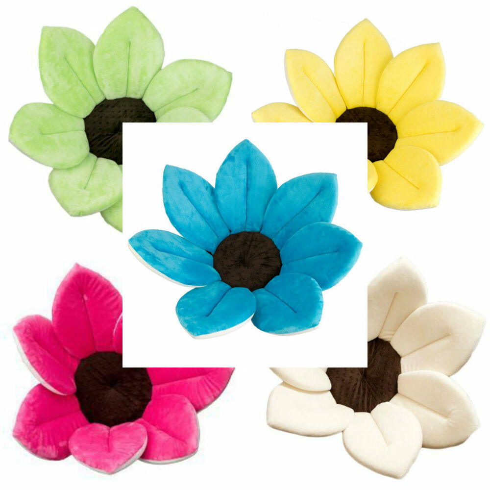 Blooming Bath - plush Flower baby bath / Sunflower Bather ...
