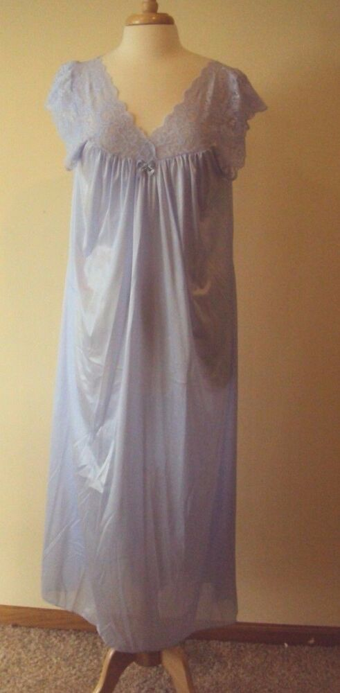 Details about Shadowline Silhouette Nightgown Style 32737 53