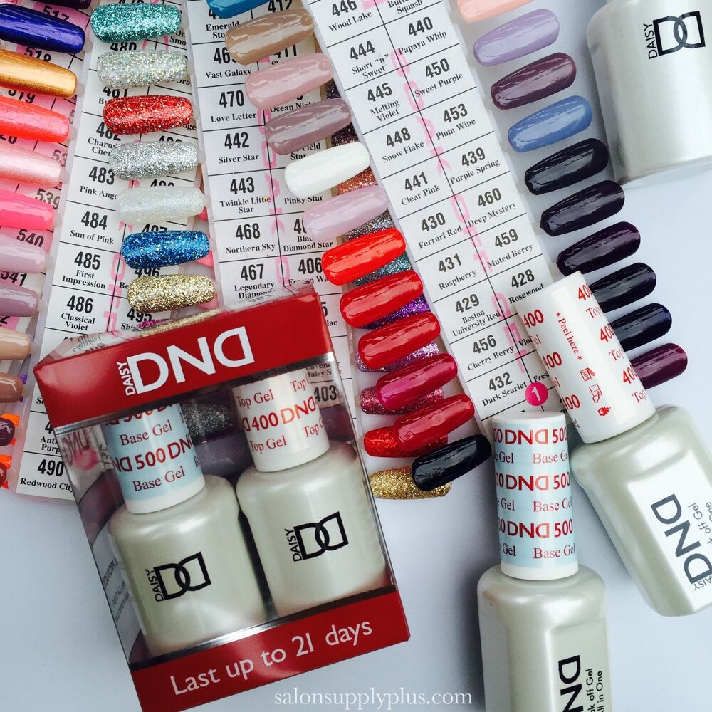DND Daisy Duo Gel Nail Polish - CHOOSE ANY 10,20,30,40,50 COLORS OF ...