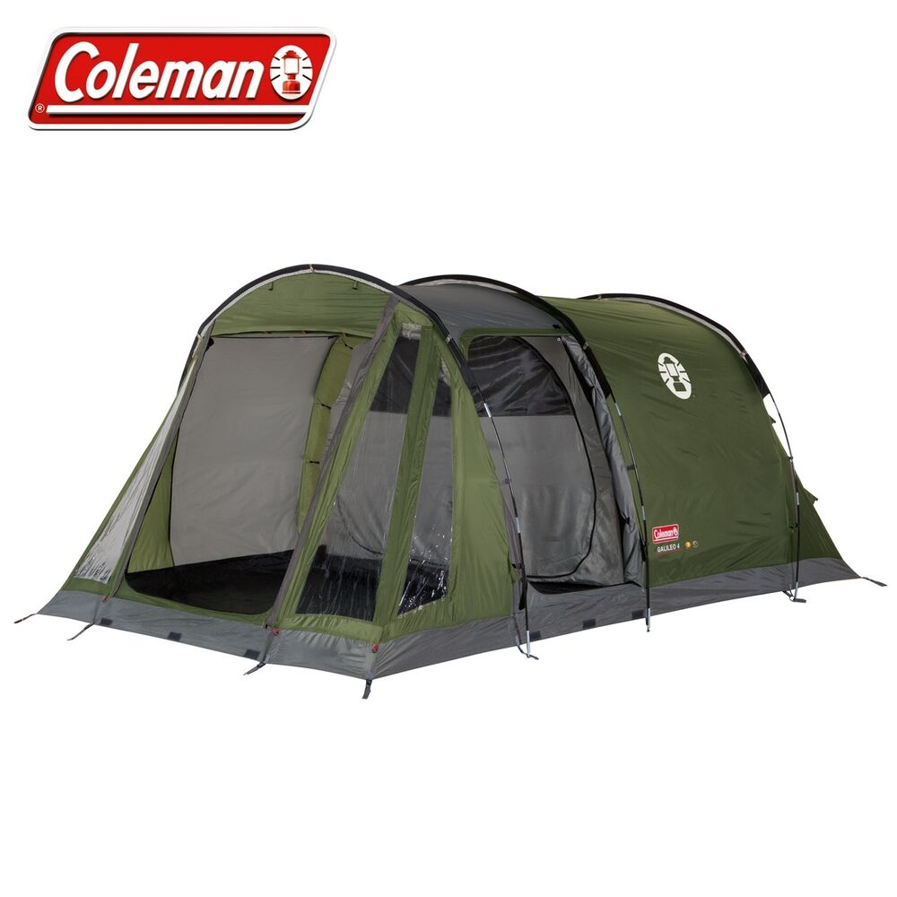 Coleman Galileo Family 4 Man Person Tent Camping Glamping ...