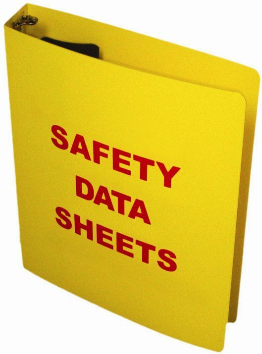 Osha right to know 3 sds binder formally msds binder ebay for Depot ringcenter