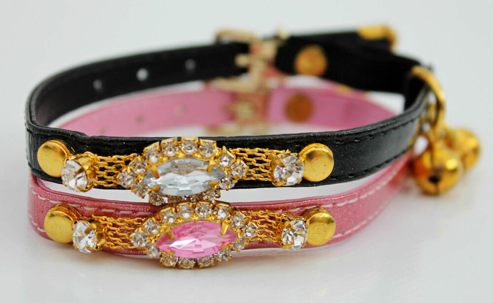 Crystal Cat Collars Uk