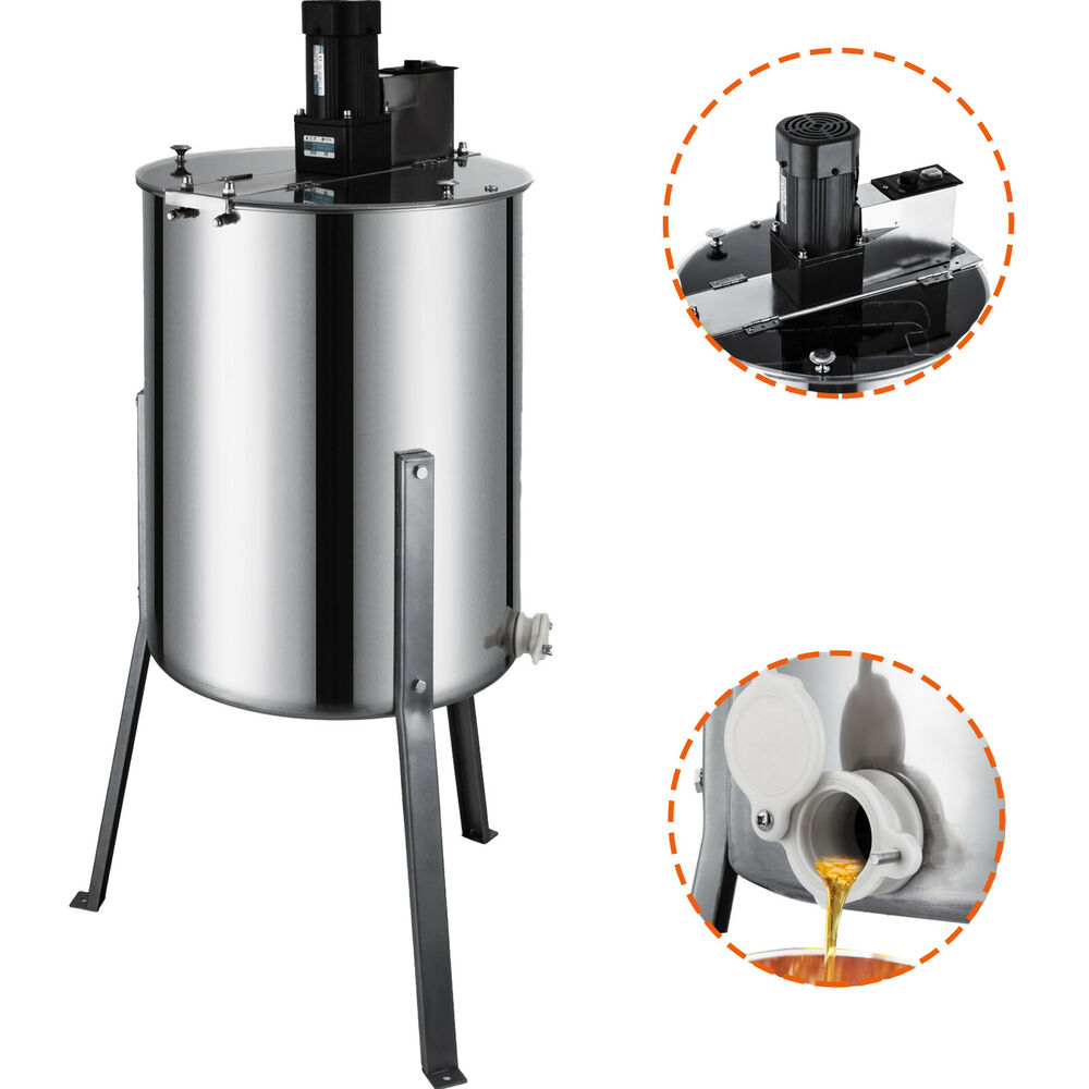 Pro Electric 4/8 Frame Stainless Steel Honey Extractor ... - photo#18