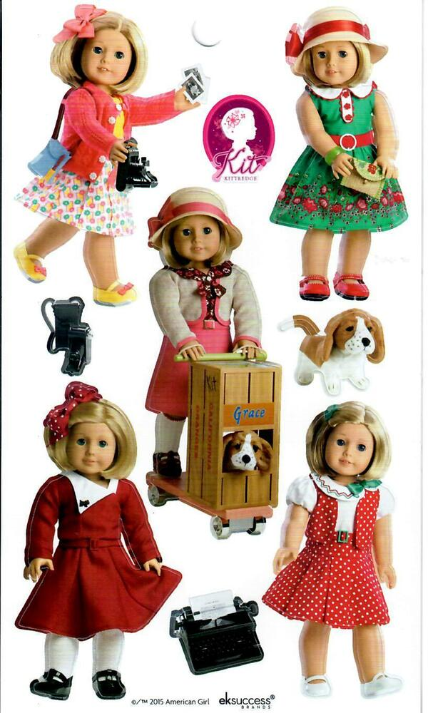 ag doll crafts american kit beforever stickers meet reporter 1029