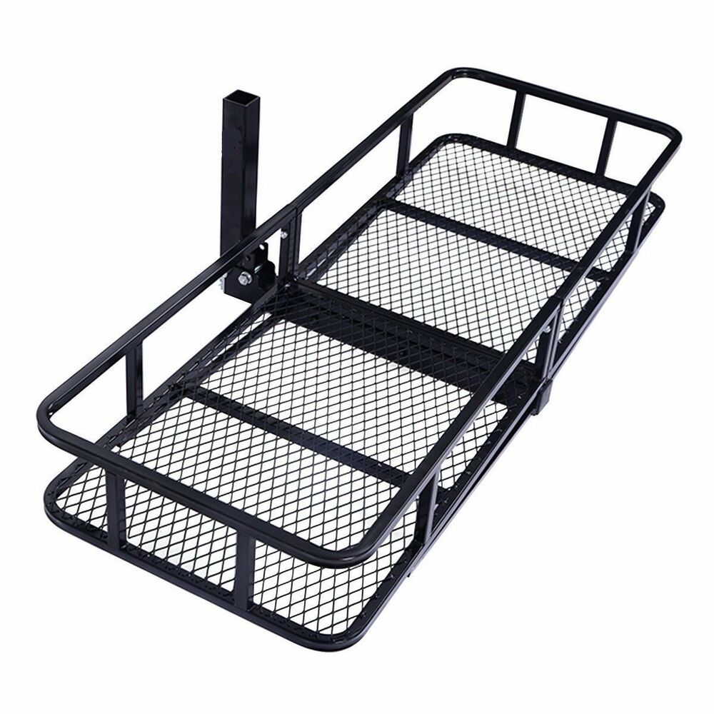 Steel Folding Luggage Cargo Basket Carrier Truck SUV ...