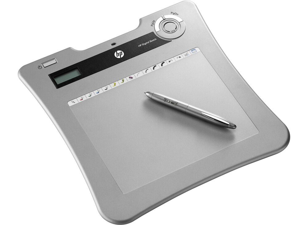 NEW HP Digital Sketch wireless tablet BU865AA 626102-001 ...