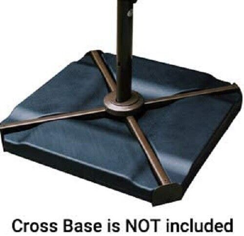 Patio Cantilever Offset Umbrella Stand For Cross Base