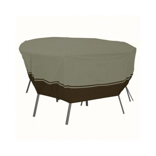 Patio Table Cover Round Chair Set Outdoor Picnic Protector Deck Dining Furnit
