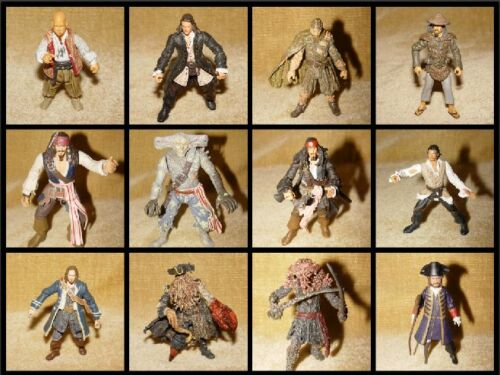 """**CHOOSE YOUR OWN** PIRATES OF THE CARIBBEAN 3.75"""" ACTION FIGURE DISNEY ZIZZLE"""