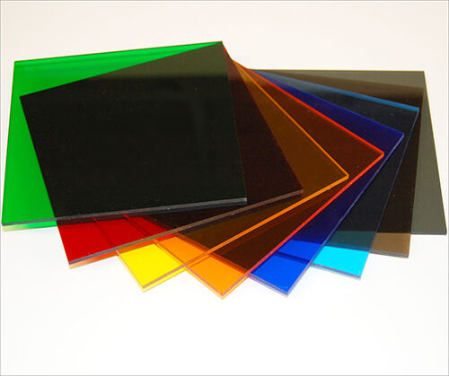 Tinted Colour Perspex Acrylic Plastic Sheet Cut To Size