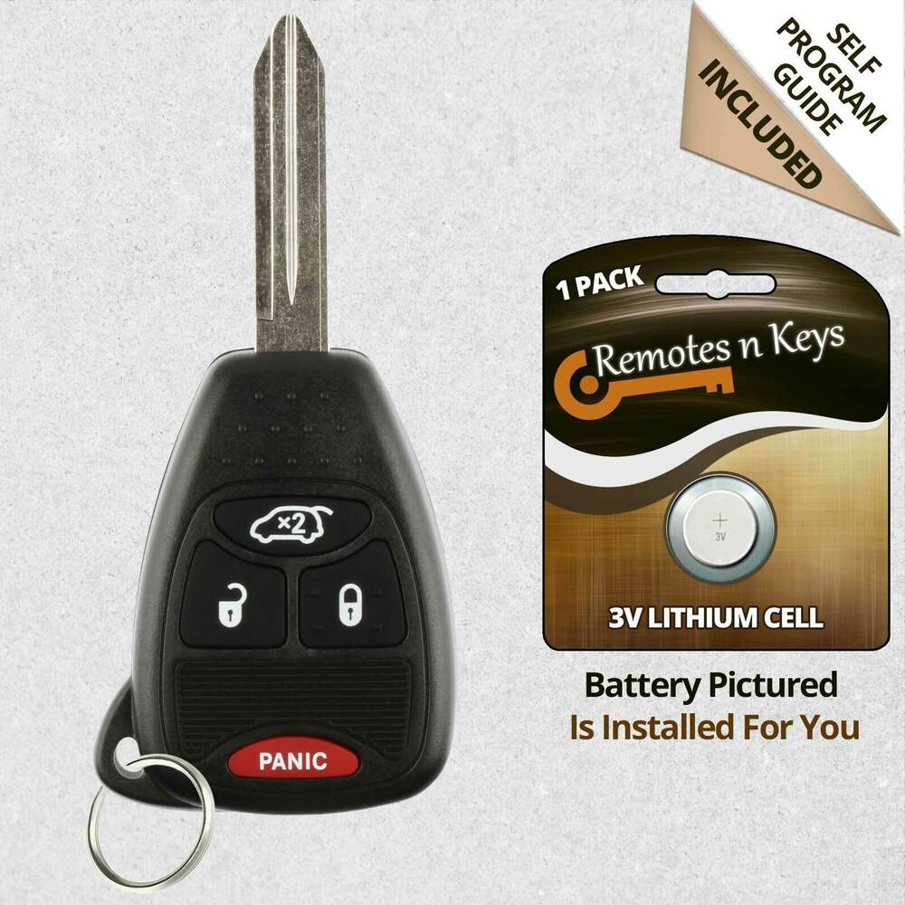 New Replacement Keyless Remote Car Key Fob For Jeep Grand