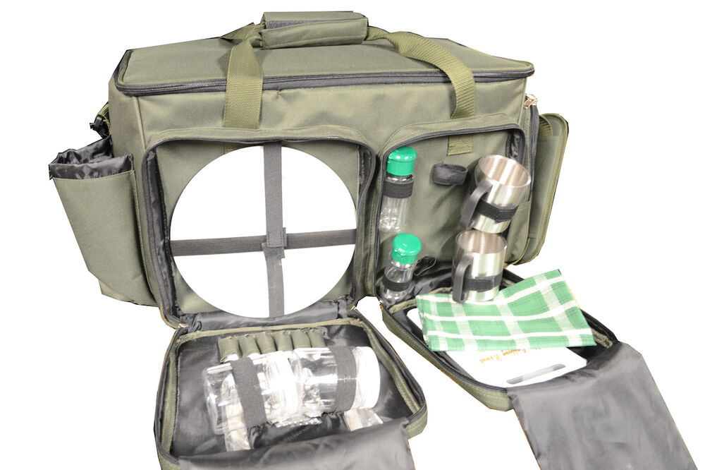 Carp fishing gear setup hamper food bag ebay for Ebay fishing gear