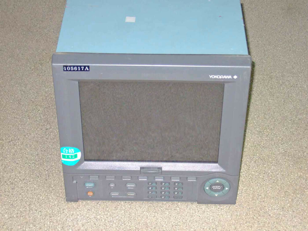 4 20ma Digital Chart Recorder : Yokogawa dx daqstation digital chart recorder ebay