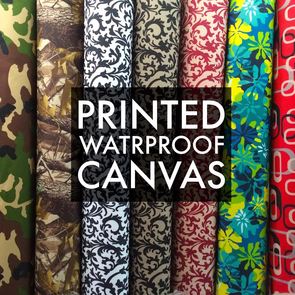Printed Canvas Fabric Waterproof Outdoor 60 Quot Wide 600