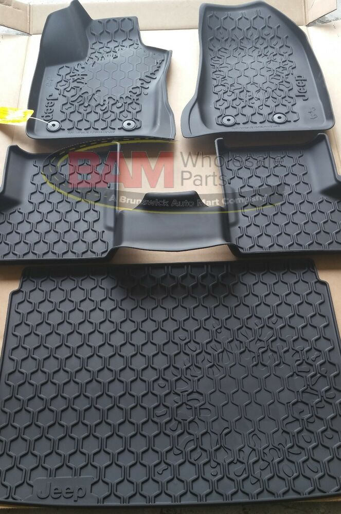 2015 2017 Jeep Renegade Slush Mat Rubber Cargo Tray Oem