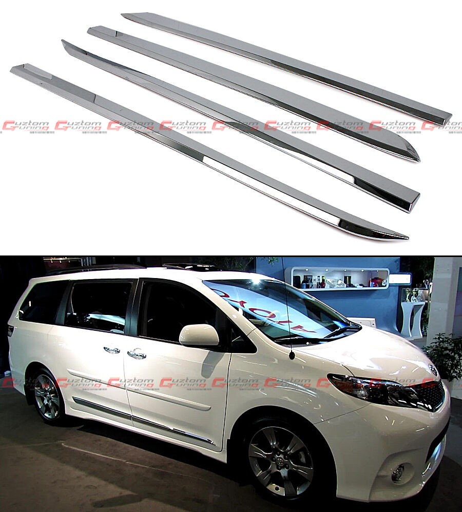 2016 Toyota Sienna Exterior: FOR:2011-2016 TOYOTA SIENNA LE XLE POLISHED ABS SIDE BODY