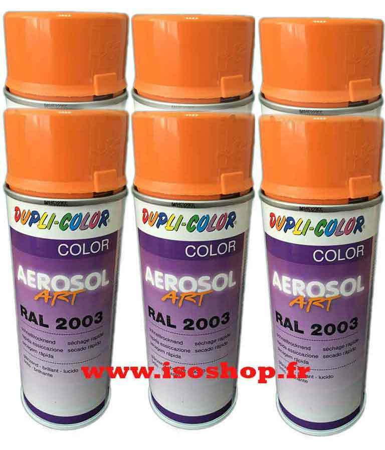 dupli color a rosol peinture teinte couleur pastel orange ral 2003 spray 6x400ml ebay. Black Bedroom Furniture Sets. Home Design Ideas