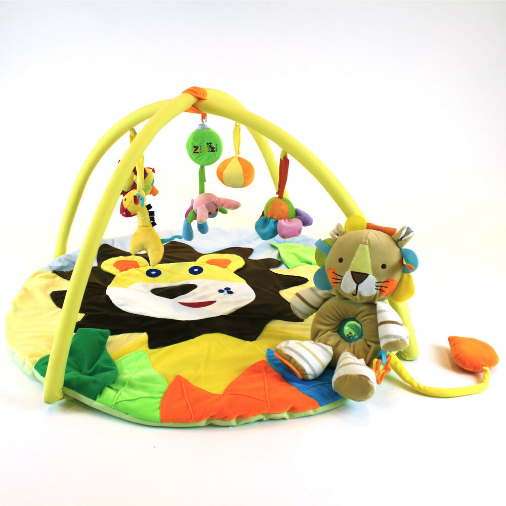 Baby Musical Lion Amp Cub Play Mat Free Lion Cub Soft