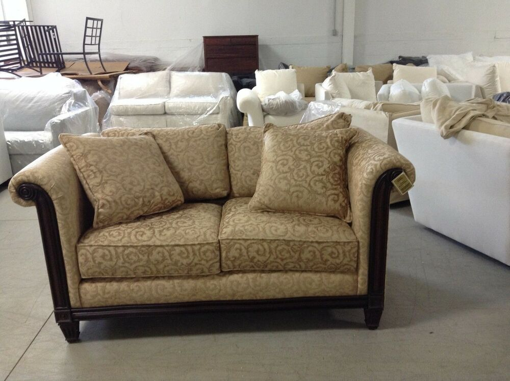 williams sonoma home pottery barn bennet sofa couch faux suede