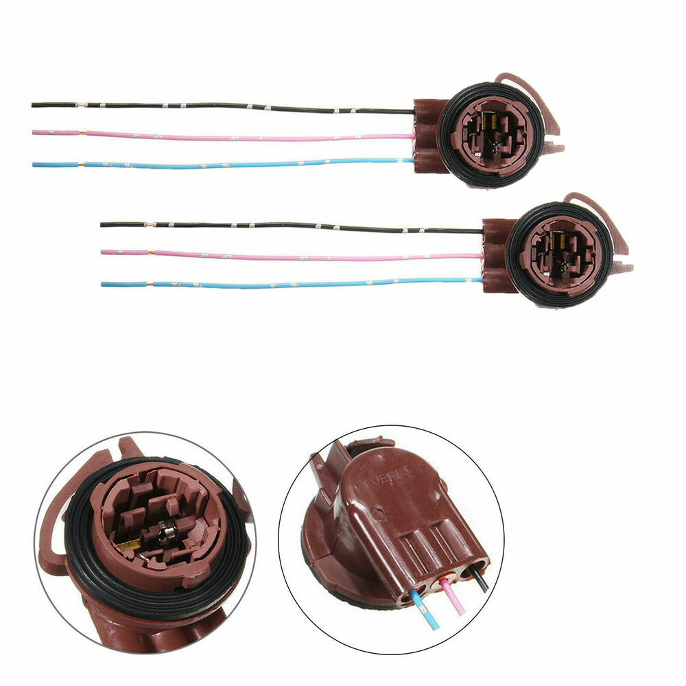 No Red Wire On Wiring Harness : Bulb socket brake turn signal light harness