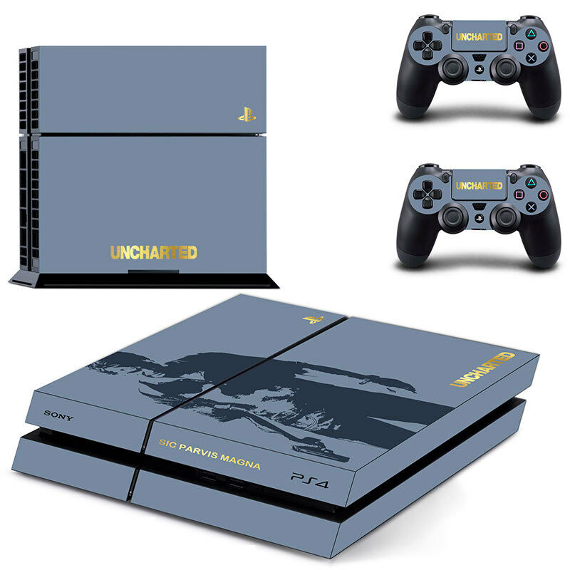 New The Uncharted 4 Skin Sticker for PS4 Playstation 4 ...