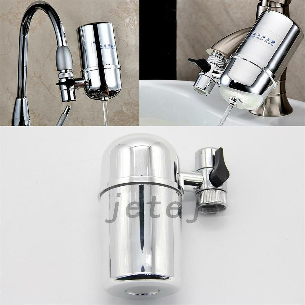 kitchen sink water filter faucet home kitchen tap water filter activated carbon water 8563