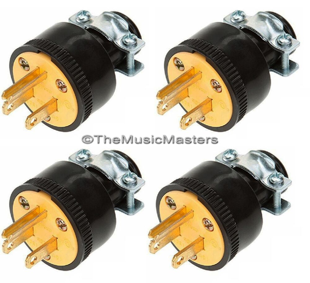 Electric Power Plugs : Extension cord replacement electrical ac wall power