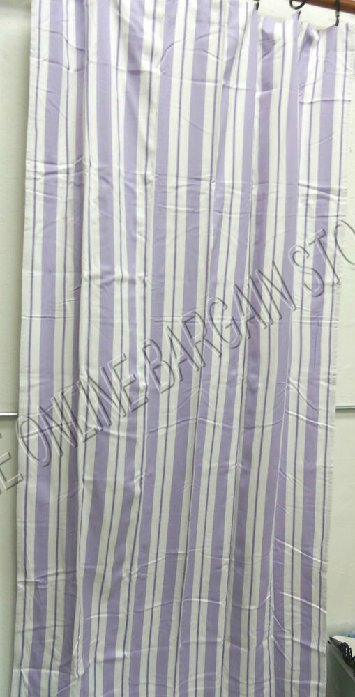 Pottery Barn Kids Spring Stripe Double Width Curtains