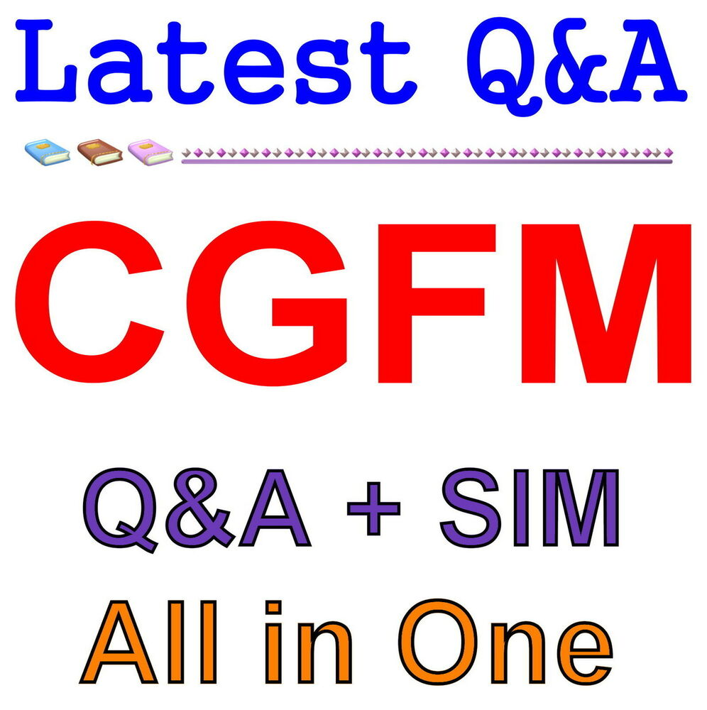 Certified Government Financial Manager Cgfm Exam Qa Pdfsim Ebay
