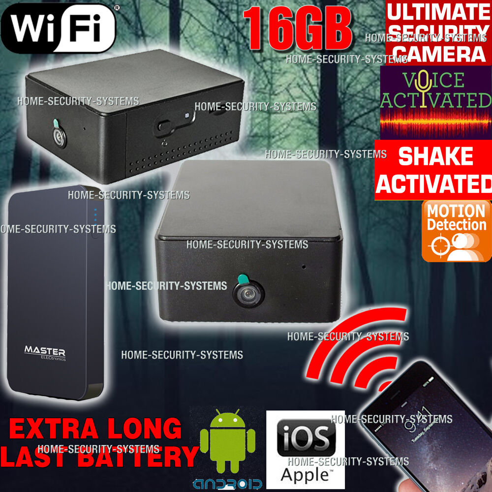 Anti Theft Camera Wifi Device Home Security System Motion
