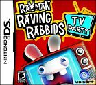Rayman Raving Rabbids: TV Party (Nintendo DS, 2008) GAME ONLY