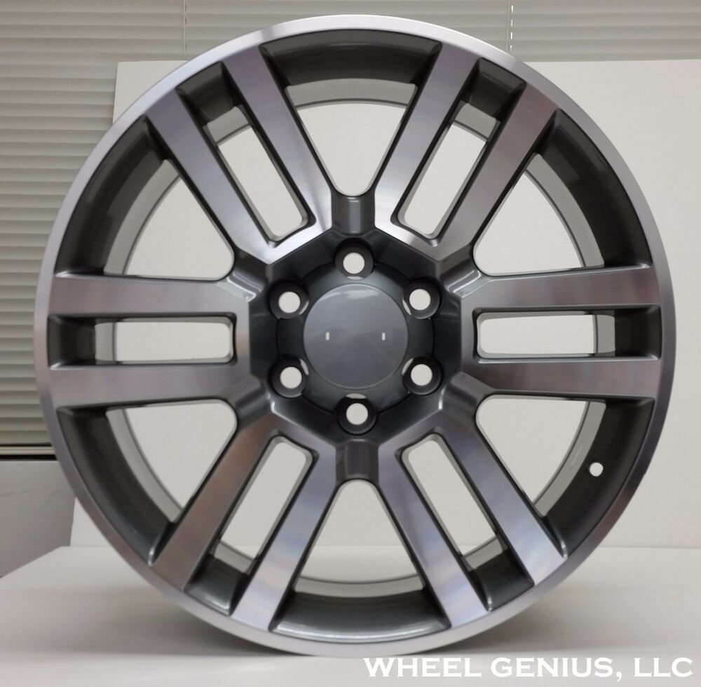 20 toyota 4runner limited style alloy wheels rims 2010. Black Bedroom Furniture Sets. Home Design Ideas