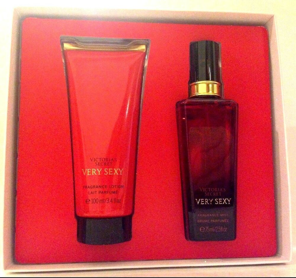 victoria 39 s secret very sexy body mist lotion gift box 2. Black Bedroom Furniture Sets. Home Design Ideas