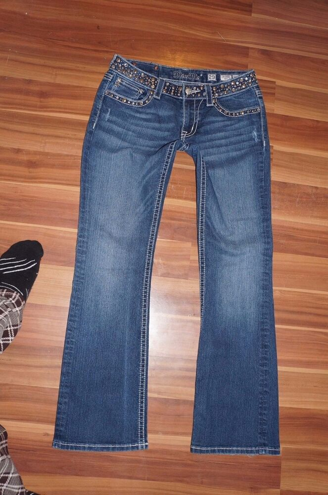 All jeans sizes are listed as the designer's size scheme and are derived from waist measurements. To get your correct size you should measure the smallest part of your waist - the measurement in inches should be your true jeans size.