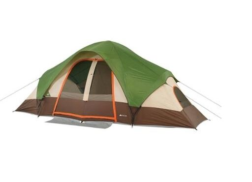 Ozark Trail 8 Person Dome Tent 2 Rooms Mesh Roof Camping