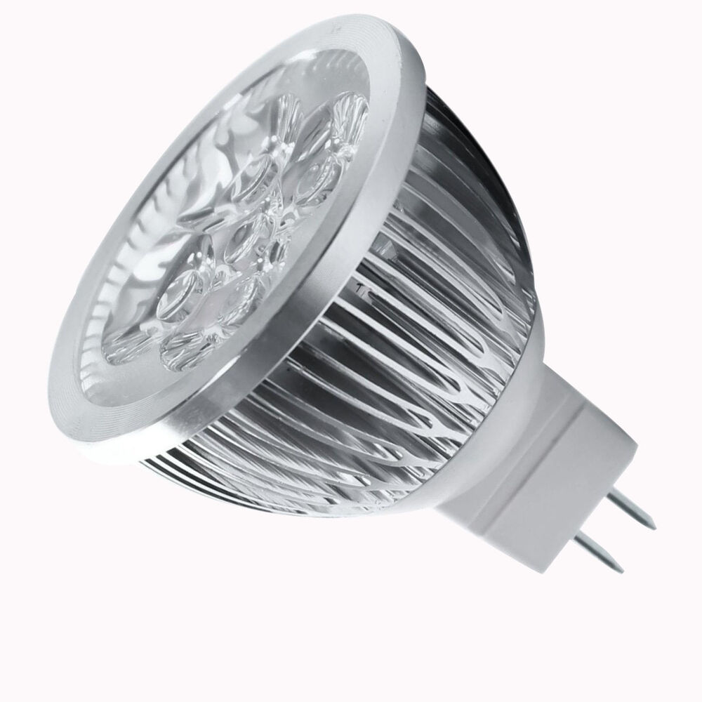 Led Spotlight Light Bulbs: 4W Dimmable MR16 LED Bulb LW