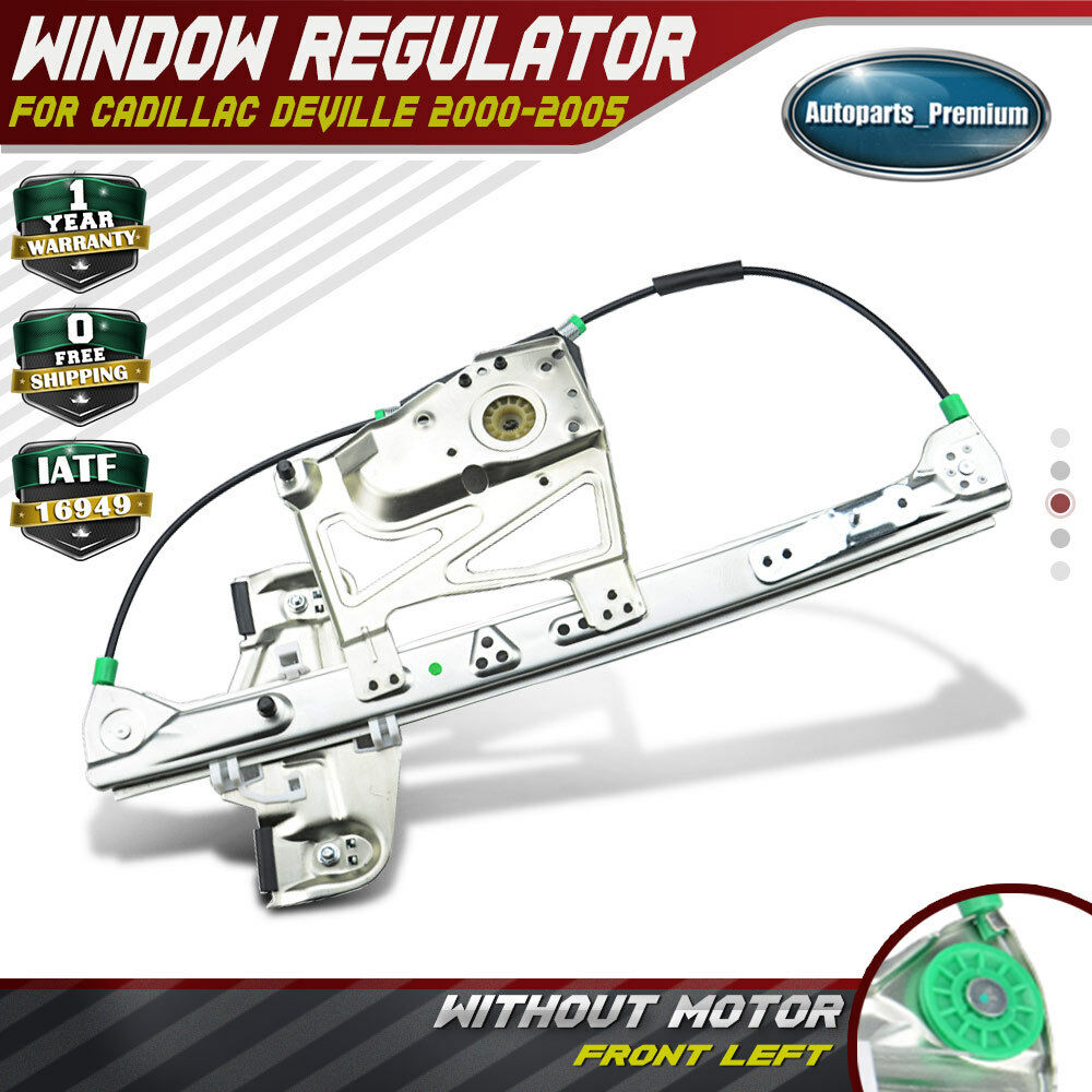 Power window regulator without motor for cadillac deville for 2000 cadillac deville window regulator