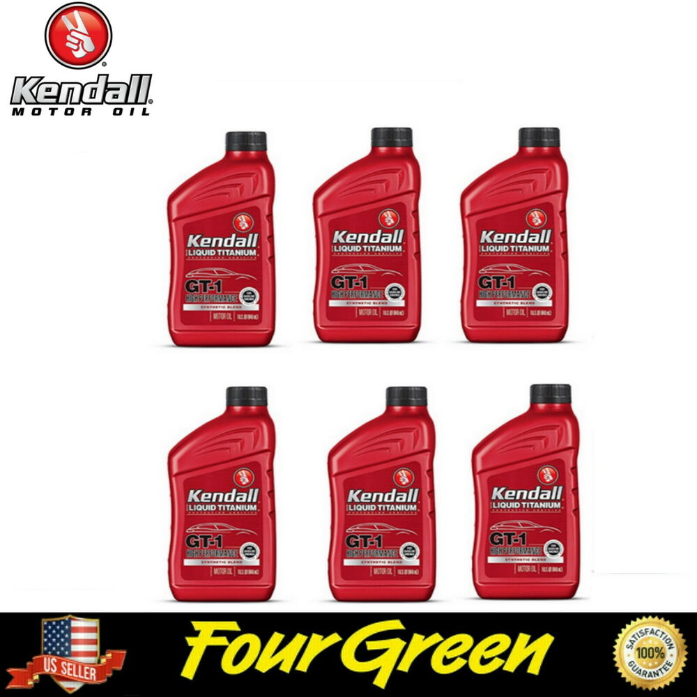 Kendall Engine Motor Oil 10w30 Gt 1 Synthetic With Liquid
