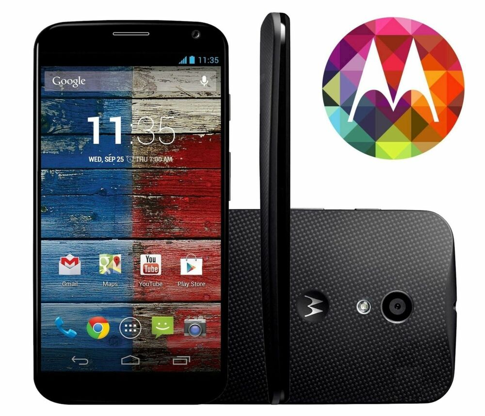 motorola moto x 4g lte 16gb android wifi gps unlocked smartphone xt1058 8808992092773 ebay. Black Bedroom Furniture Sets. Home Design Ideas